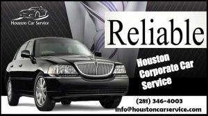 Houston Corporate Town Car Service