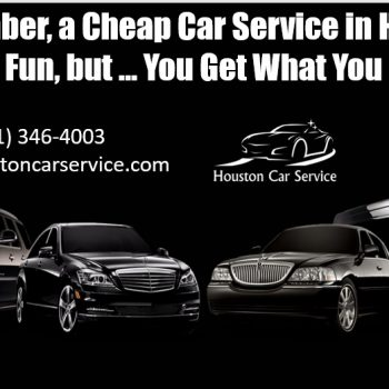 Cheap Car Service in Houston