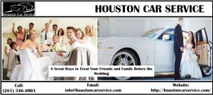 Houston Wedding Limo Rental